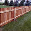 Wooden Fencing and Yard Cleaning